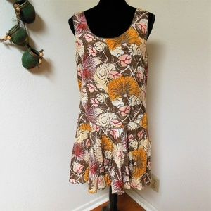 Free People Brown floral Dress